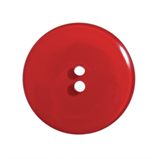 Large Glossy Coloured Buttons - various colours - 28mm Diameter