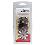 Sew Easy Rotary Blade Set - Pinking, Skip and Wave
